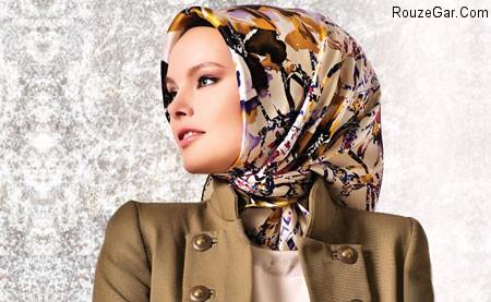 شال و روسری ترکیه ای مدرن