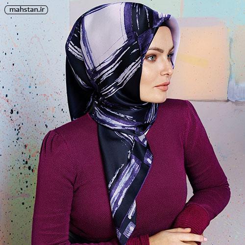 شال و روسری ترکیه جذاب و زیبا