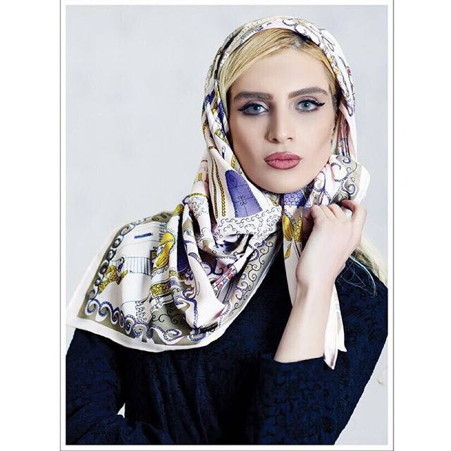 شال و روسری تاج محل زنانه