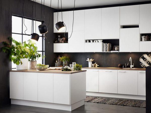 آویزهای سقفی قابل تنظیم در آشپزخانه