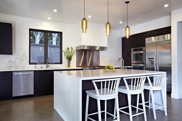 آویزهای طراحی شده در آشپزخانه