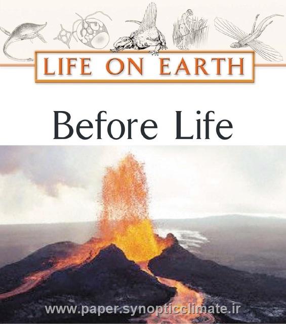 دانلود کتاب حیات بر روی کره زمین قبل از زندگی(بشر)