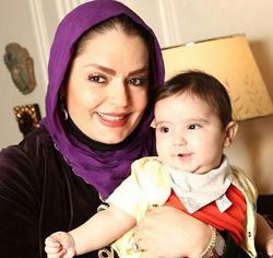عکسهای سپیده خداوردی با خانواده اش