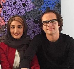 عکسهای مینا ساداتی با همسرش بابک حمیدیان