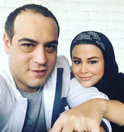 عکسهای زوج هنرمند امیریل ارجمند و یاسمینا باهر