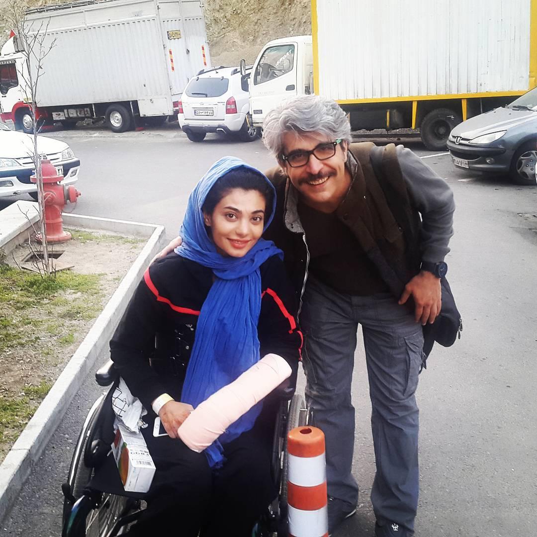 سارا عبدالملکی با امیر غفارمنش