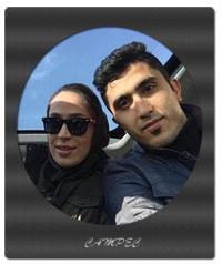بیوگرافی و عکسهای مجتبی میرزاجانپور با همسرش