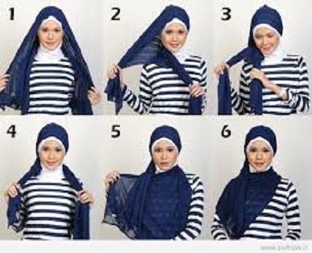 مدل های متنوع شال و روسری