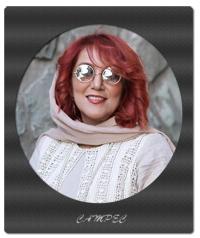 عکسهای پانته آ بهرام در افتتاحیه نمایشگاه زن و زمین