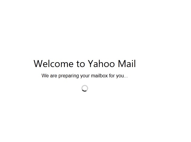 مشکل We are preparing your mailbox for you در یاهو