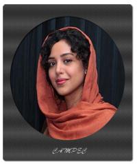هنگامه حمید زاده در افتتاحیه نمایشگاه زن و زمین