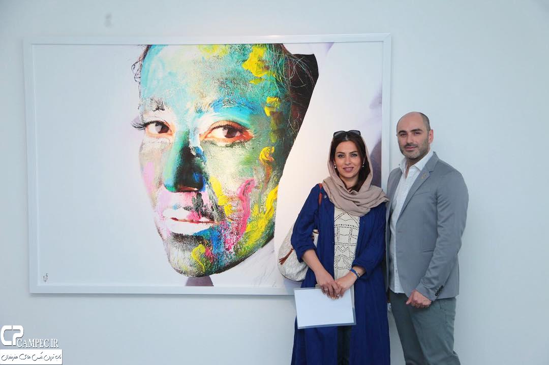 تینا پاکروان در نمایشگاه زن و زمین