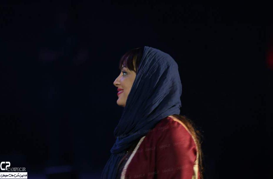 لیلا برخورداری در کنسرت مهدی یراحی