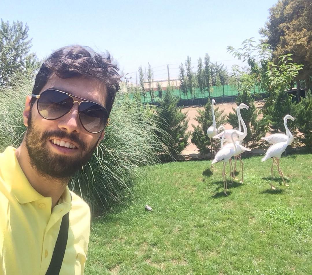 عکس شخصی سید محمد موسوی