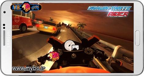 دانلود بازی Highway Traffic Rider 1.5.3 – موتور سواری در بزرگراه برای اندروید + نسخه بی نهایت