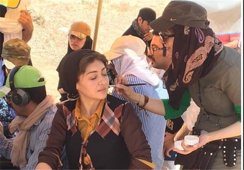 تیپ متفاوت نیکی کریمی در سریال سرزمین کهن , چهره های ایرانی