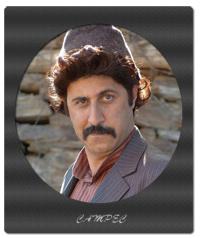 هومن حاجی عبداللهی با گریمی متفاوت در سریال علي البدل+عکسها