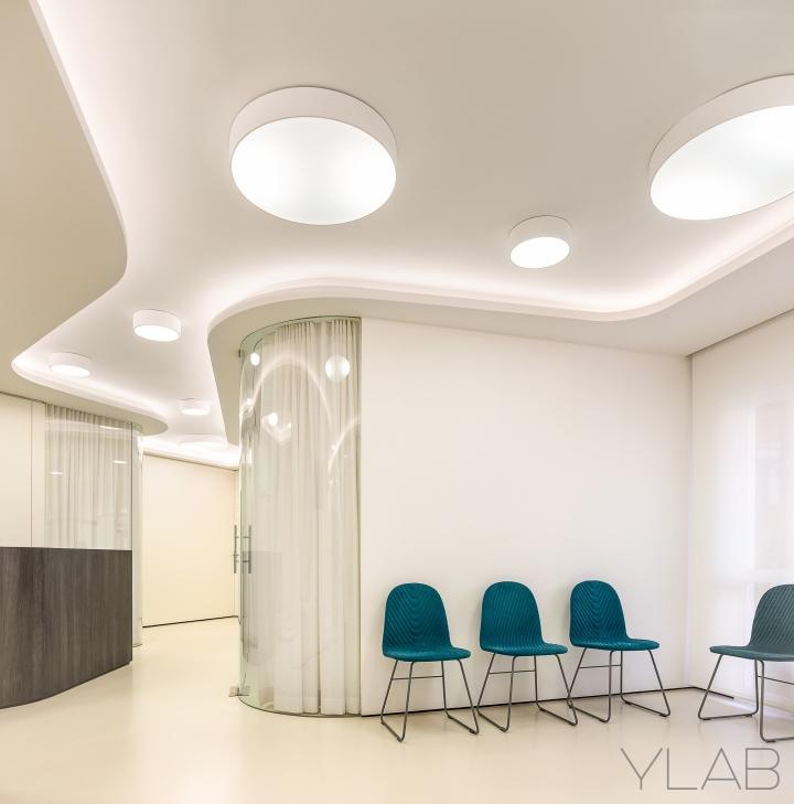 طرح کناف سقف مطب دندانپزشک