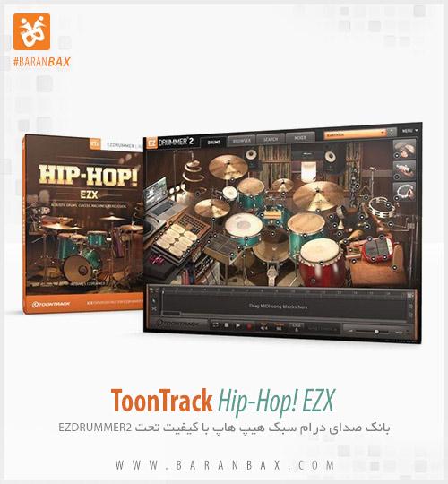 دانلود وی اس تی درامز ToonTrack Hip-Hop! EZX