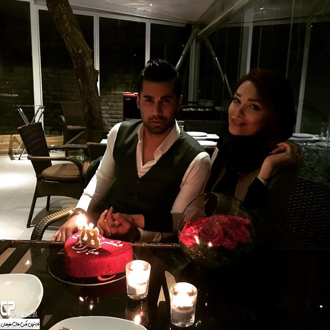 عکس شخصی محسن فروزان با همسرش