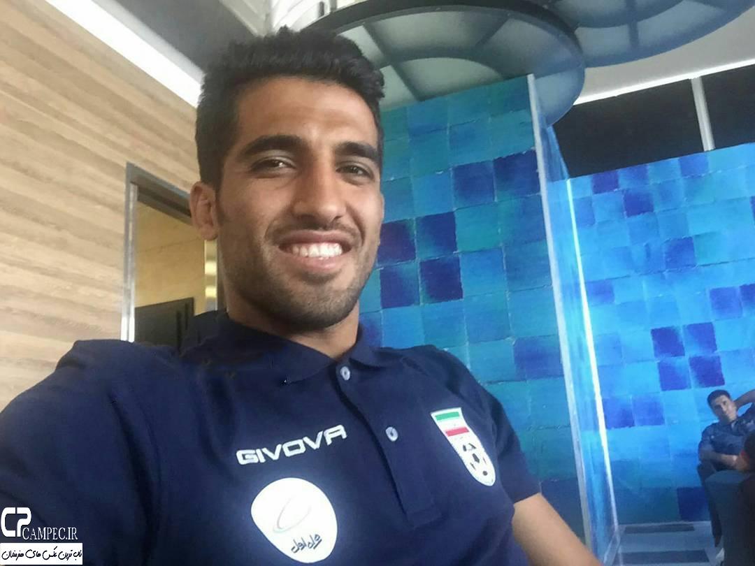 وحید امیری در اردوی تیم ملی فوتبال