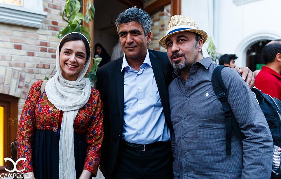 رضا عطاران و ترانه علیدوستی در خانه سینما