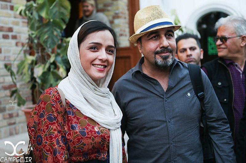 ترانه علیدوستی و رضا عطاران در خانه سینما