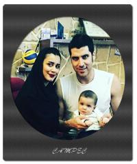عکسهای شهرام محمودی با همسرش