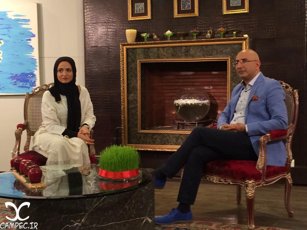 گلاره عباسی در برنامه صد برگ