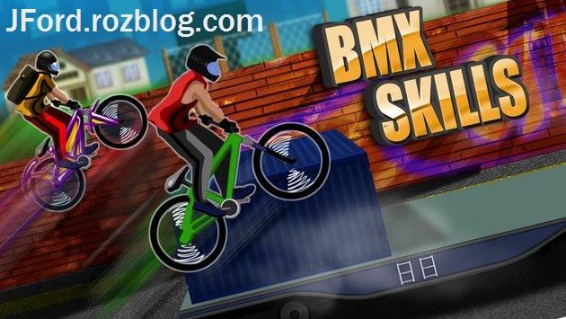 دانلود BMX Skills v1.7 بازی سرگرم کننده مهارت دوچرخه سواری اندروید