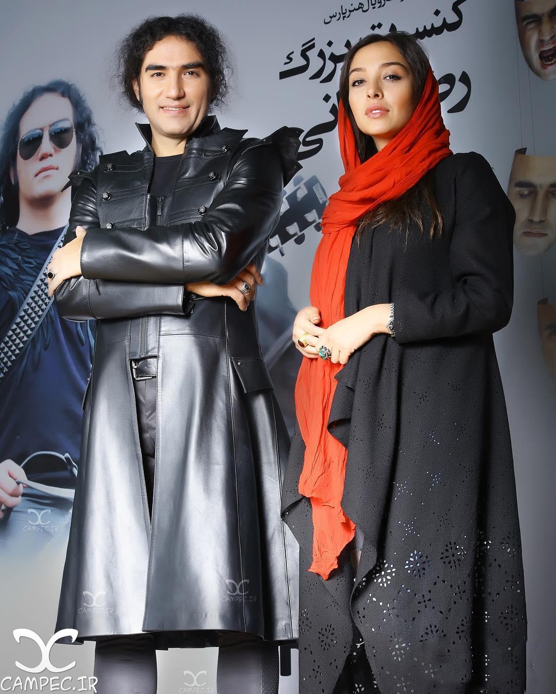آناهیتا درگاهی در کنسرت رضا یزدانی