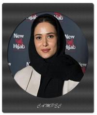 پریناز ایزدیار در فروشگاه برند نیو حجاب