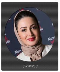 عکسهای شیلا خداداد در فروشگاه برند نیو حجاب