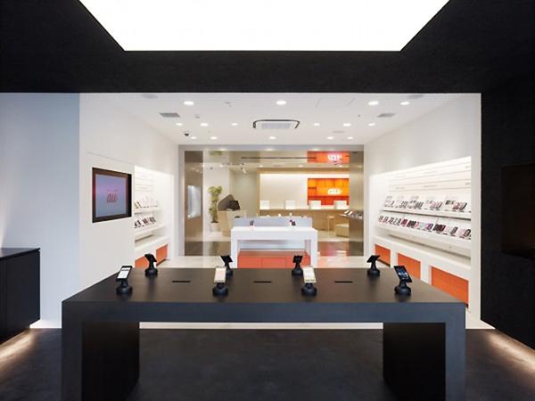 طراحی مغازه موبایل فروشی