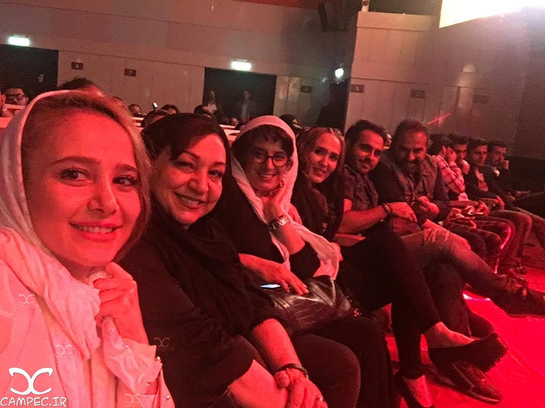 بازیگران فیلم دردسرهای عظیم در کنسرت میثم ابراهیمی