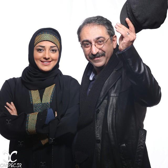 شهرام شکیبا و همسرش ستاره قطبی