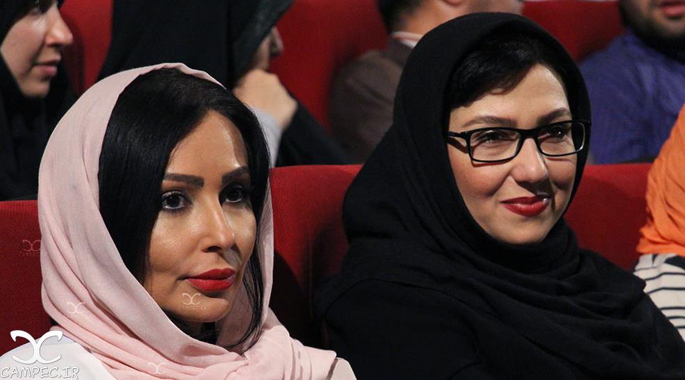 معصومه کریمی و پرستو صالحی در کنسرت علیرضا قربانی