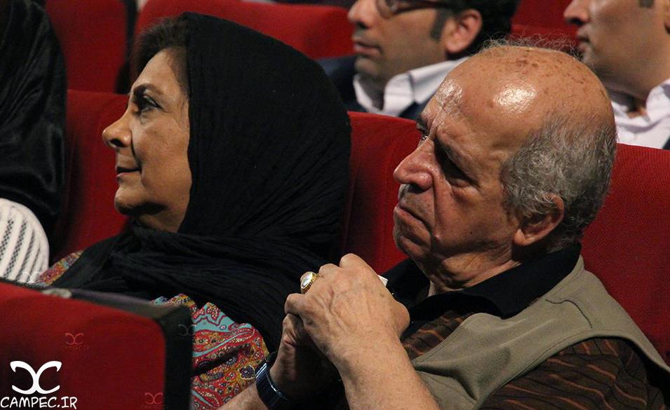 محسن قاضی مرادی و مهوش وقاری در کنسرت علیرضا قربانی