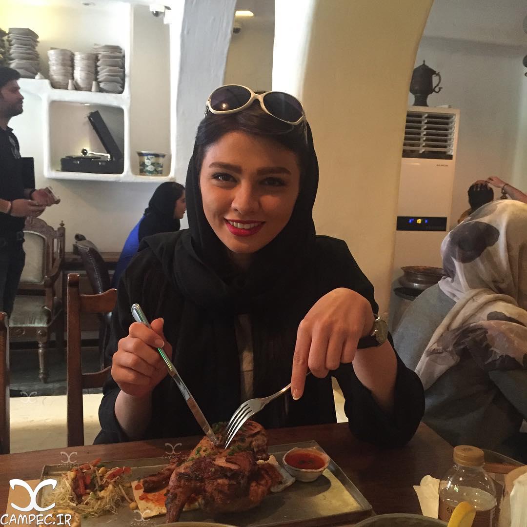 عکس جدید سیما خضر آبادی خرداد 95