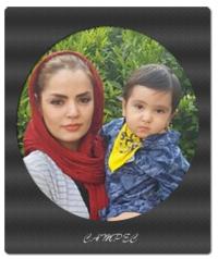 عکسهای سپیده خداوردی با پسرش سانیار