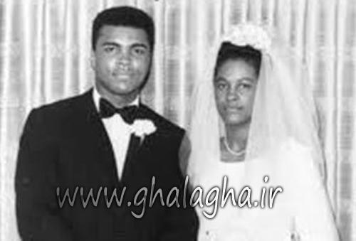 عکس عروسی محمد علی کلی بوکسور مسلمان
