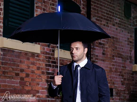 Tarabrella چتری هوشمند برای اعلام زمان بارندگی