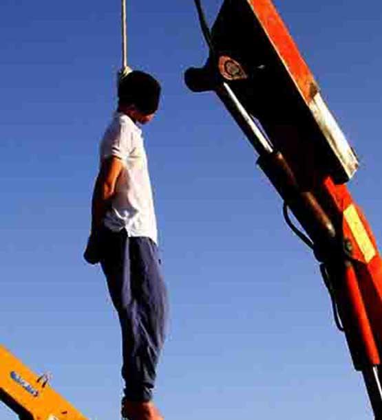 مرد ژله ای اعدام شد +عکس , حوادث
