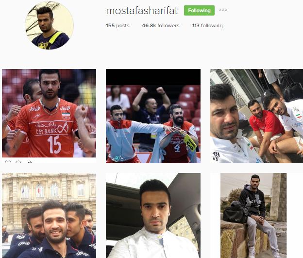 آخرین عکس از پروفایل اینستاگرام مصطفی شریفات