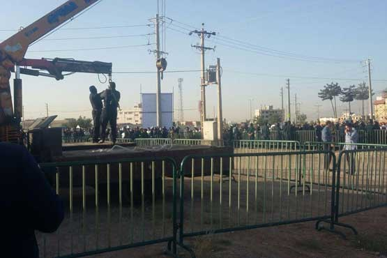 تصاویر اعدام مرد ژله ای در شیراز