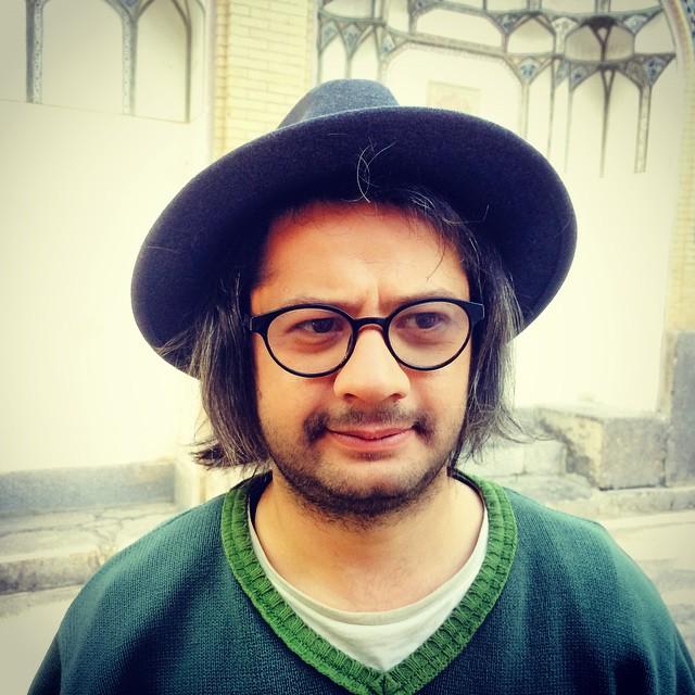 عکس شخصی علی صادقی