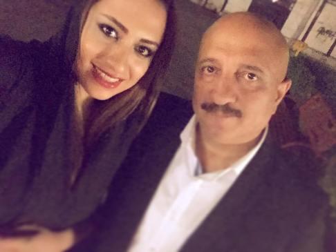 عکس دیده نشده از مسعود روشن پژوه و دخترش , چهره های ایرانی