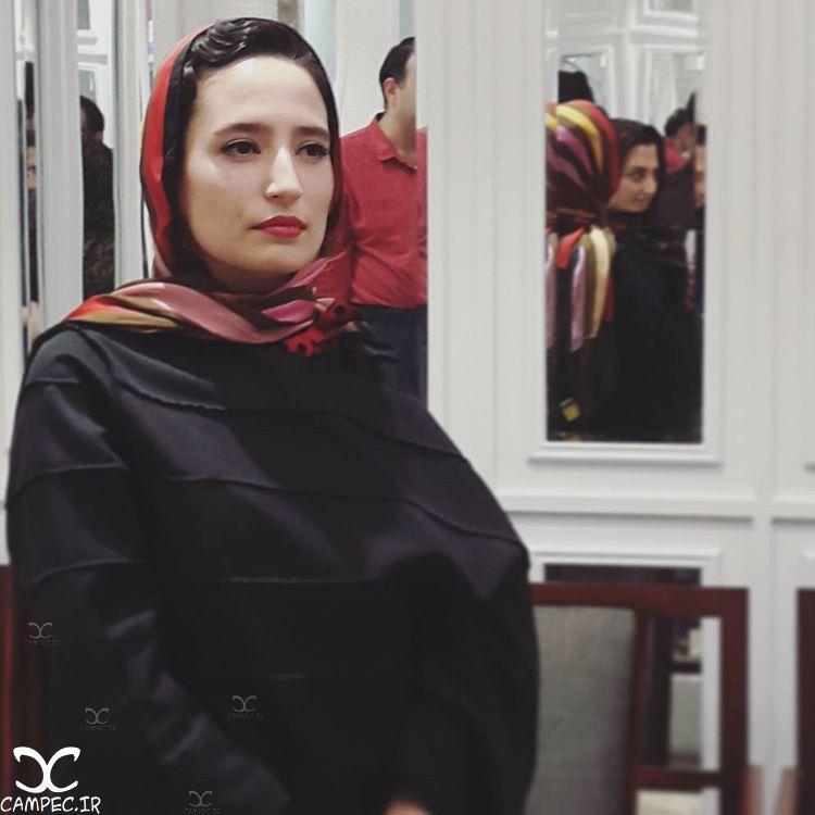نگار جواهریان در جشن روزنامه سینما