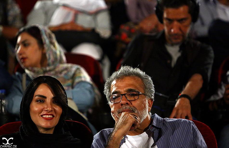 بهروز افخمی و مرجان شیر محمدی در اکران فیلم گاوخونی