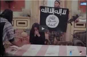 هنرپیشۀ زن مصری در دام داعش +فیلم , چهره های معروف